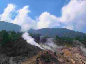 Góra Salak na Jawie